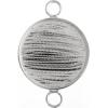 Bezel Handmade Link Round 29x1mm Silver Plated